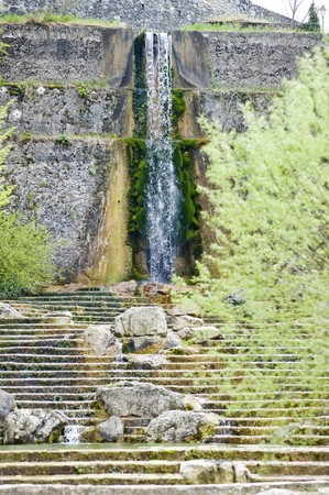 cascade in South France photo