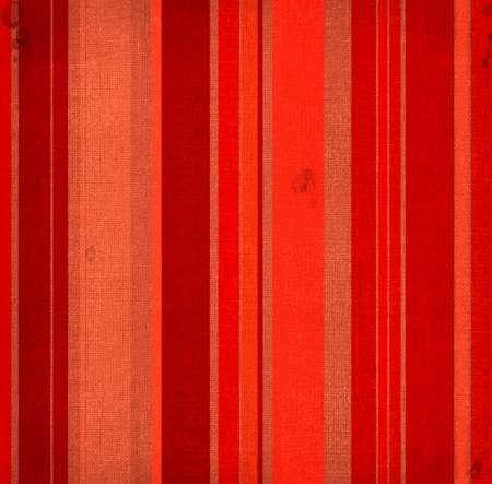 Striped fabric with red and brown colours