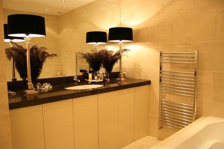 abatjour: Splendidamente progettato bagno di lusso