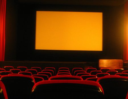 empty movie theatre Stock Photo - 1105360
