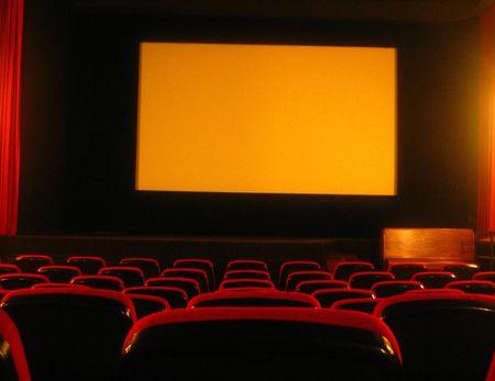 empty movie theatre Stock Photo - 1105360