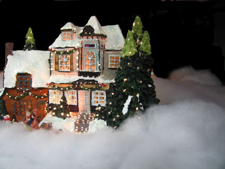 christmas house Stock Photo - 1141158