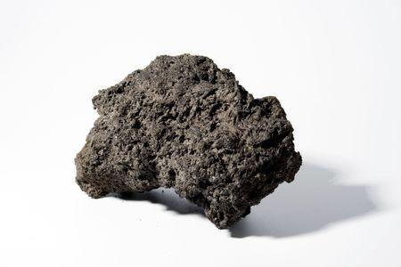 Brocken: Big St�ck schwarzen Lava