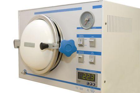 sterilizer isolated on white Stock Photo