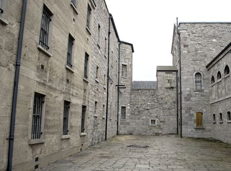 Old prison courtyard in Dublin Stock Photo - 2933213