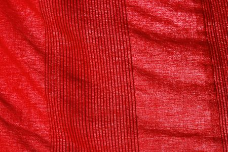 red fabric in close up Stock Photo - 3047874