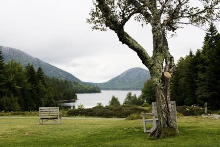 arcadia: Beautiful lake in Arcadia National Park