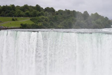 Horse shoe falls at Niagara  photo