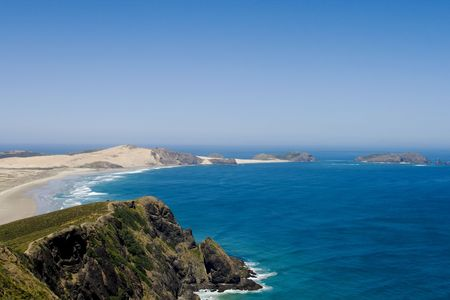 ninety: Beautiful 90 mile beach in New Zealand