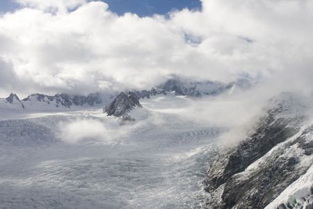 josef: On top of the beautiful Franz Joseph Glacier in New ZEaland