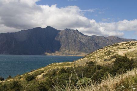 unexplored: Lake wakatipu New Zealand