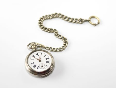 19th century: Antique pocket watch from 19th century