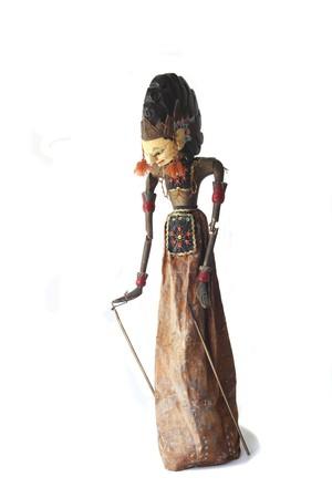 indonesia culture:  Indonesian wajang golek puppet Stock Photo
