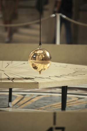 Foucault pendulum in Pantheon, Paris Stock Photo - 7930944