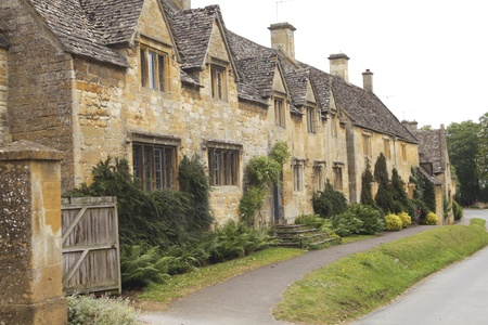 cotswold: Beautiful english cottages in the Cotswold area