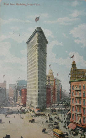 flatiron: The Flatiron Building, which was called the Fuller Building when it was constructed, was one of the tallest buildings in New York City upon its completion in 1902.