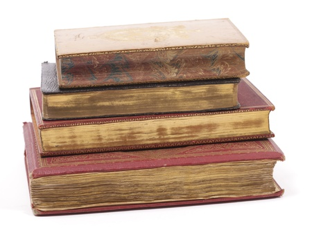 antique and expensive books on a stack Stock Photo - 9888939