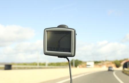 Gps system in car Stock Photo - 11078172