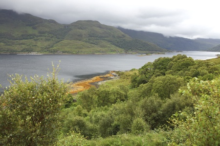 Beautiful loch in Scotland on a cloudy day Stock Photo - 11269478