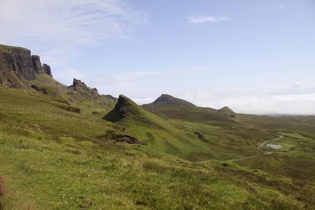 Quiraing landscape on Isle of Skye Stock Photo - 11778463