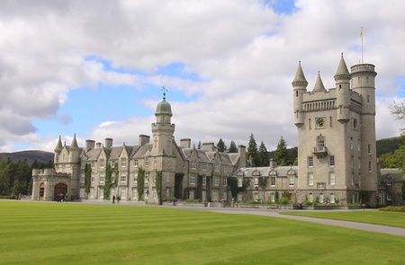Balmoral castle, summer home of the British royal family