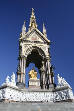 hyde: The Albert Memorial in Hyde Park in London Editorial
