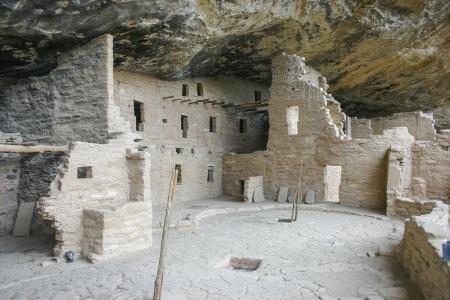 anasazi: Antica dimora del popolo Anasazi Archivio Fotografico