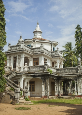 colonial house: Colonial house built in early 20th century in Negombo, Sri Lanka