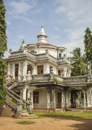 casa colonial: Casa colonial construida en el siglo 20 en Negombo, Sri Lanka