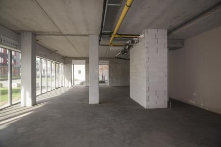 unfinished building: Unfinished building interior
