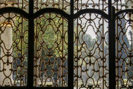 ottoman empire: window frame