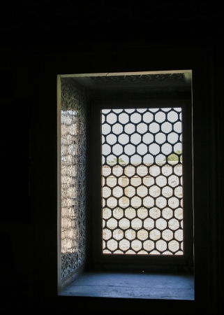 barred: Beautiful barred window