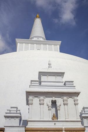 dagoba: Ruwanwelisaya Chedi in the sacred city of Anuradhapura, Sri Lanka, also known as Mahathupa and Rathnamali Dagaba.