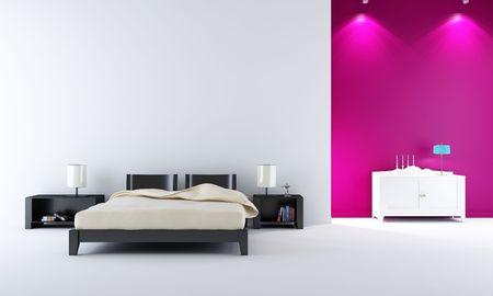 modern bedroom Stock Photo - 5451245