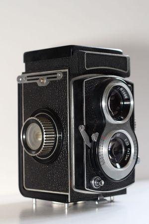 greyscale: vintage camera