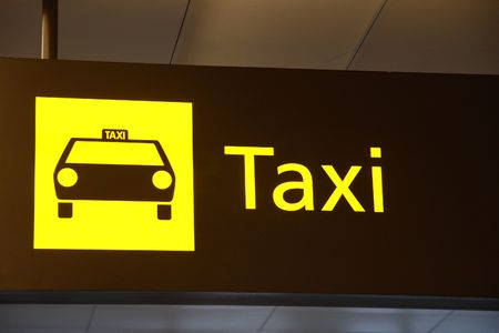 Taxi Sign Stock Photo - 2079167