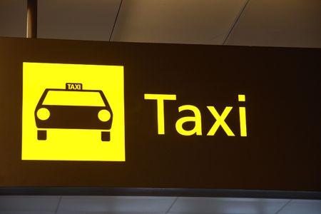 singapore: Taxi Sign