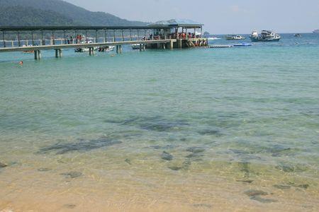 Malaysia beach Stock Photo - 2254742