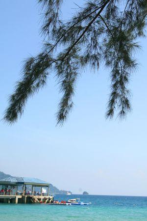 Malaysia beach Stock Photo - 2254747