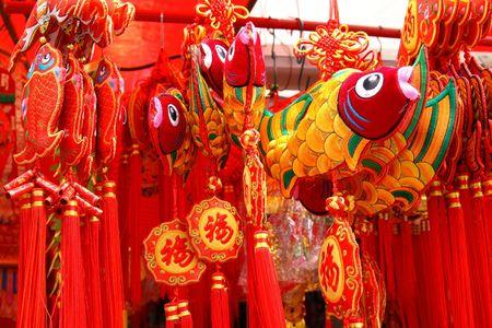 Chines New Year Decoration 版權商用圖片