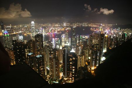 victoria peak Stock Photo - 3912319