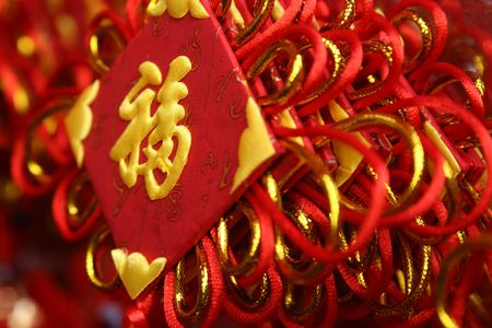 chinese Decoration for Lunar New Year photo