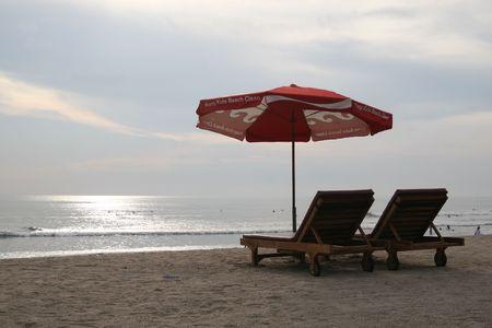 kuta: Photo of a beautiful beach in Kuta, Bali