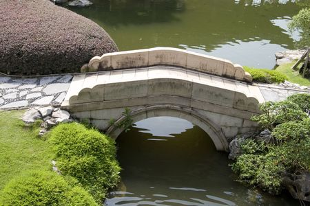 Photo shot of a chinese style garden. Stock Photo - 5319400