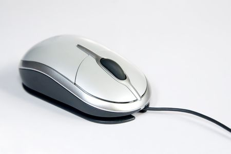 Close up photo shoot of a mouse at a angle. Stock Photo - 6965791