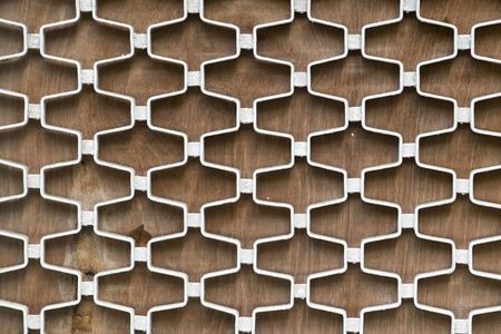 lattice window: Close up shot of a window grill background.