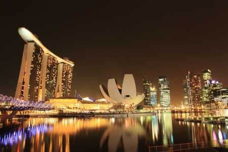 Architecture along the Singapore river. Stock Photo - 14466842