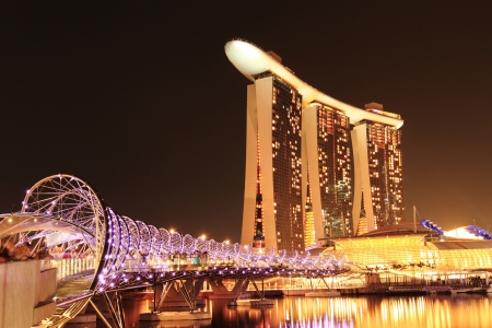 Architecture along the Singapore river.
