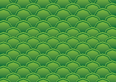 Elegant  green background pattern illustration Vector