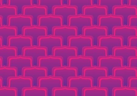 Elegant  purple background pattern illustration Vector